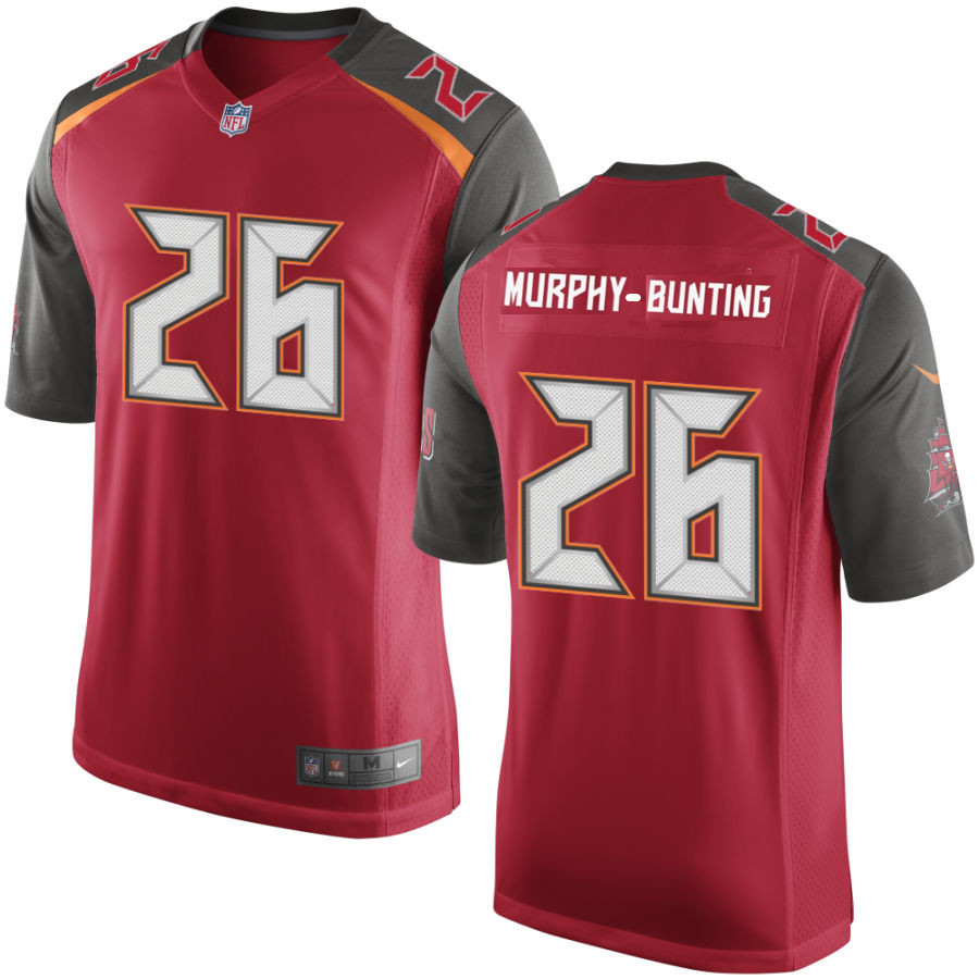 Men's Tampa Bay Buccaneers #26 Sean Murphy-Bunting Red Stitched NFL Nike Game Jersey