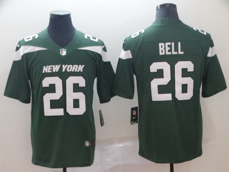 Men's New York Jets #26 Le'Veon Bell Green 2019 Vapor Untouchable Stitched NFL Nike Limited Jersey