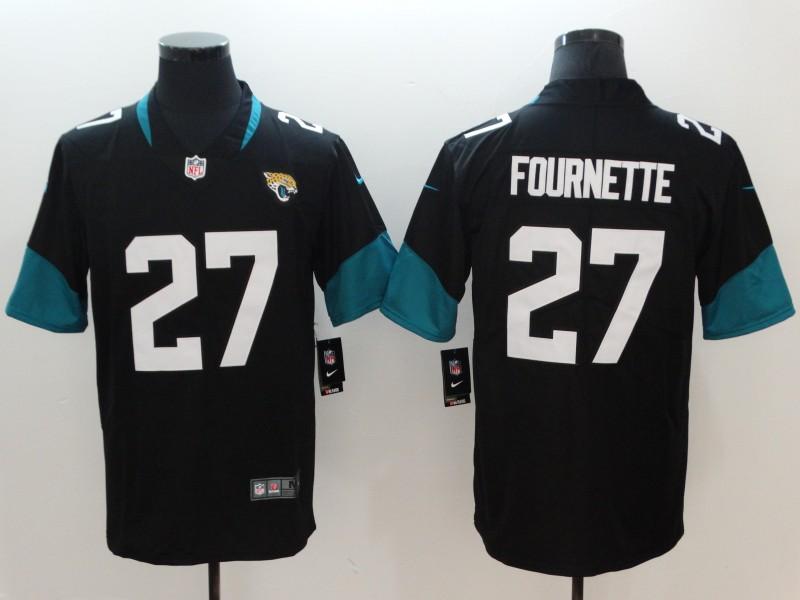 Men's Jacksonville Jaguars #27 Leonard Fournette Black 2019 Vapor Untouchable Stitched NFL Nike Limited Jersey