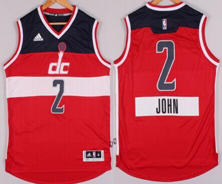 Washington Wizards #2 John Wall Revolution 30 Swingman 2014 Christmas Day Red Jersey