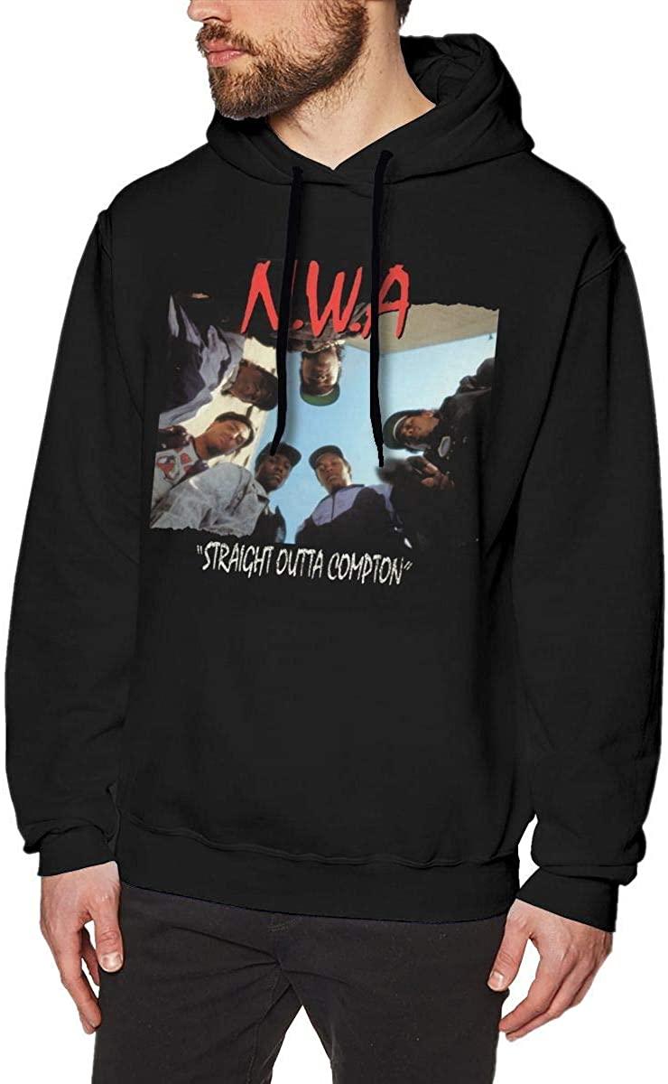 Sweatshirt Sweatshirts for Men Beilaufiges lang?rmliges mit Kapuze Hoodies Black