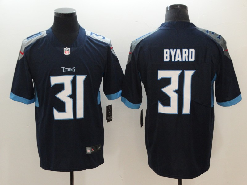 Men's Tennessee Titans #31 Kevin Byard Navy Blue 2019 Vapor Untouchable Stitched NFL Nike Limited Jersey