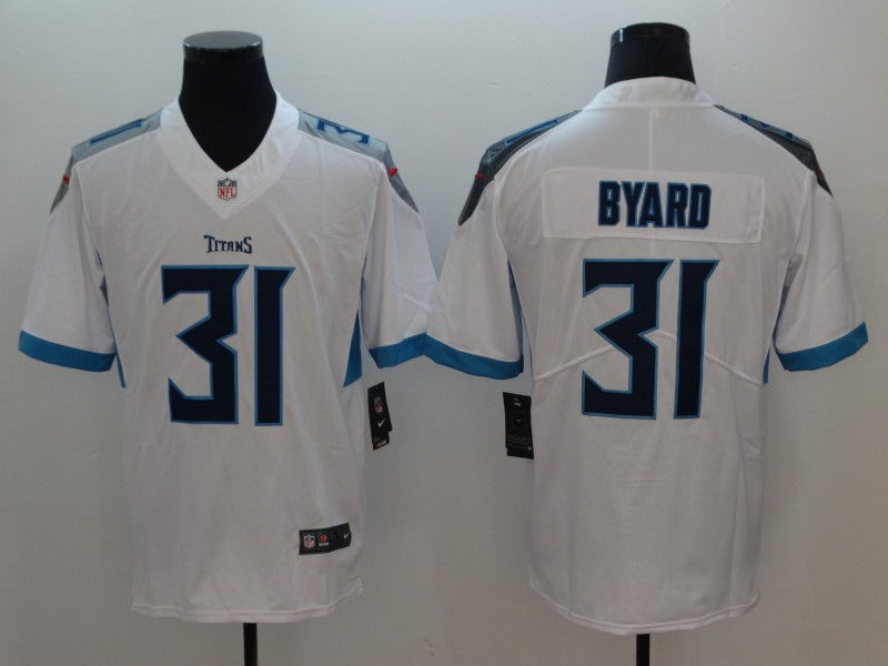 Men's Tennessee Titans #31 Kevin Byard White 2019 Vapor Untouchable Stitched NFL Nike Limited Jersey