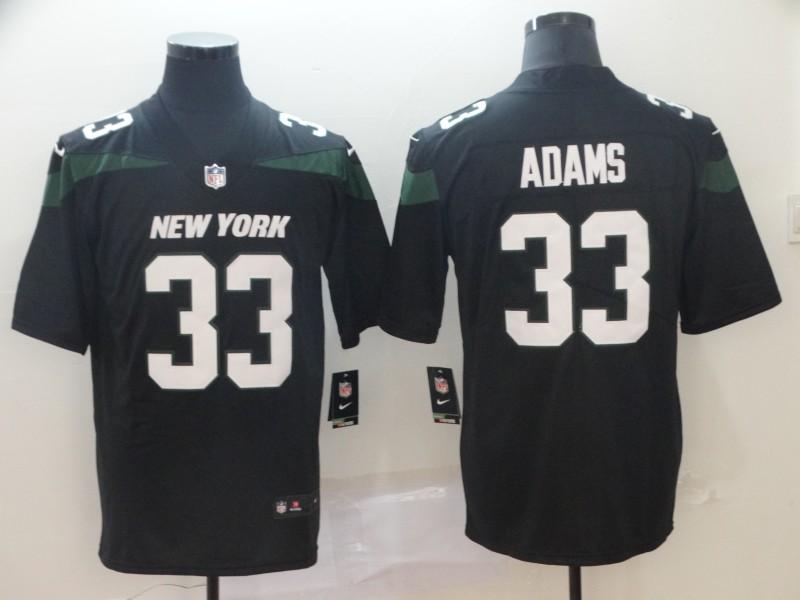 Men's New York Jets #33 Jamal Adams Black 2019 Vapor Untouchable Stitched NFL Nike Limited Jersey