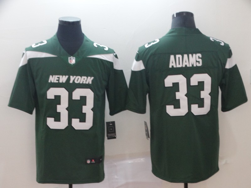 Men's New York Jets #33 Jamal Adams Green 2019 Vapor Untouchable Stitched NFL Nike Limited Jersey