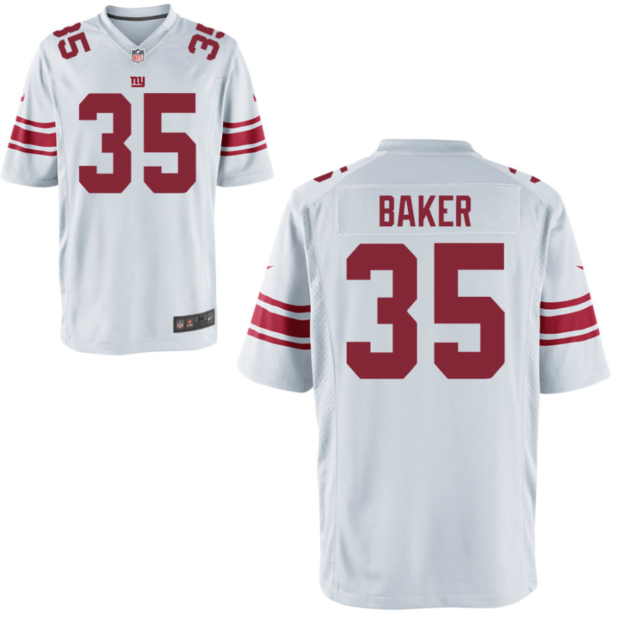 Men's New York Giants #35 Deandre Baker White Vapor Untouchable Stitched NFL Nike Limited Jersey