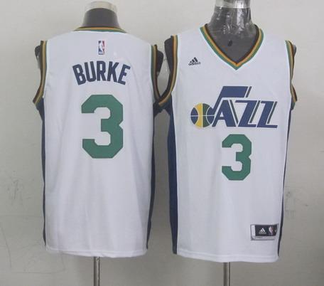 Utah Jazz #3 Trey Burke Revolution 30 Swingman New White Swingman Jersey