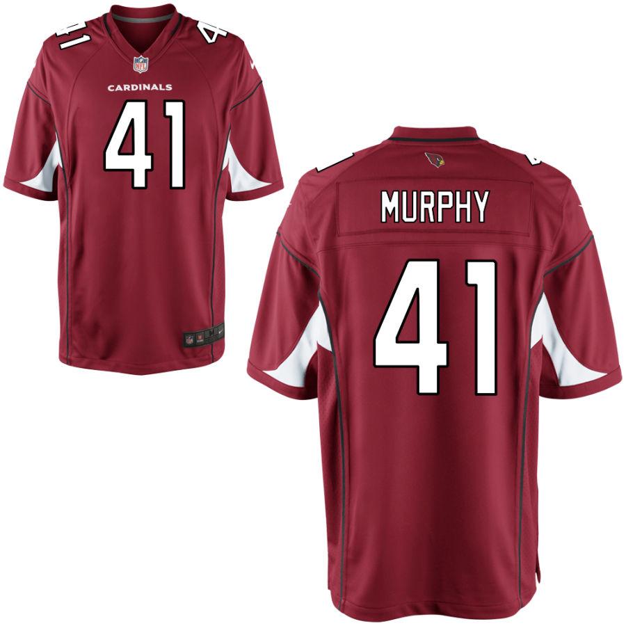 Men's Arizona Cardinals #41 Byron Murphy Red Vapor Untouchable Jersey