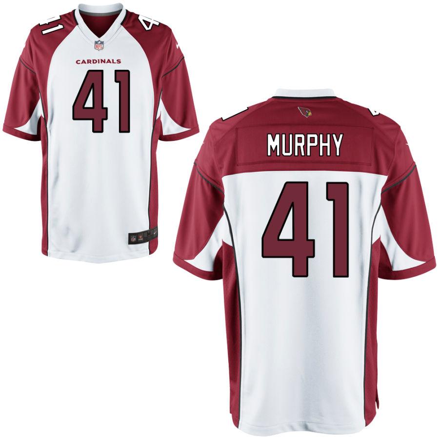 Men's Arizona Cardinals #41 Byron Murphy White Vapor Untouchable Jersey