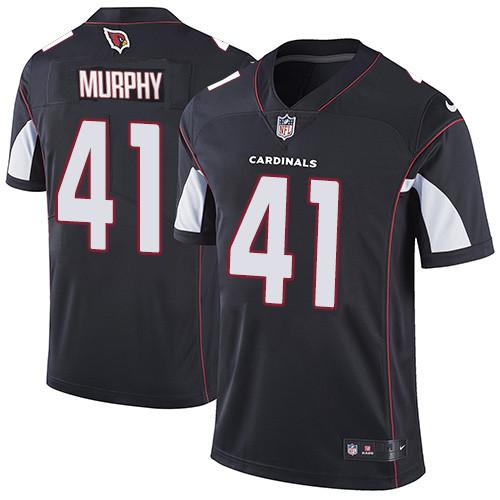 #41 Kyler Murray Black Football Alternate Men's Jersey Arizona Cardinals Vapor Untouchable