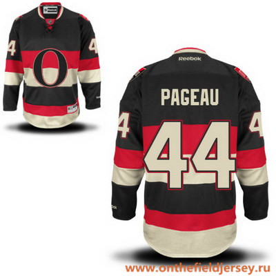 Men's Ottawa Senators #44 Jean-Gabriel Pageau Black Third Stitched NHL Reebok Hockey Jersey