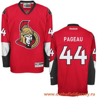 Men's Ottawa Senators #44 Jean-Gabriel Pageau Red Home Stitched NHL Reebok Hockey Jersey
