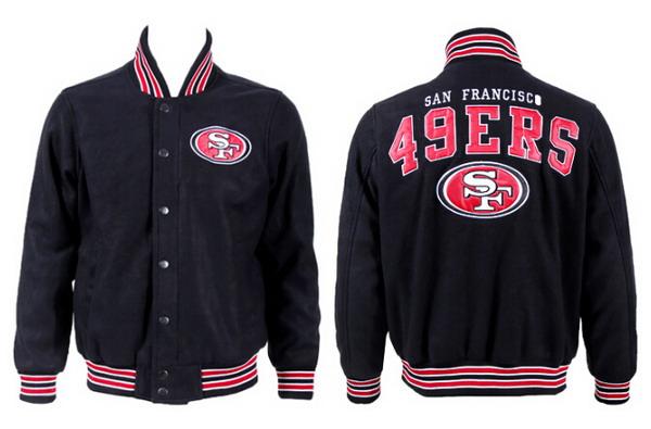 Men's San Francisco 49ers Black Jacket FY