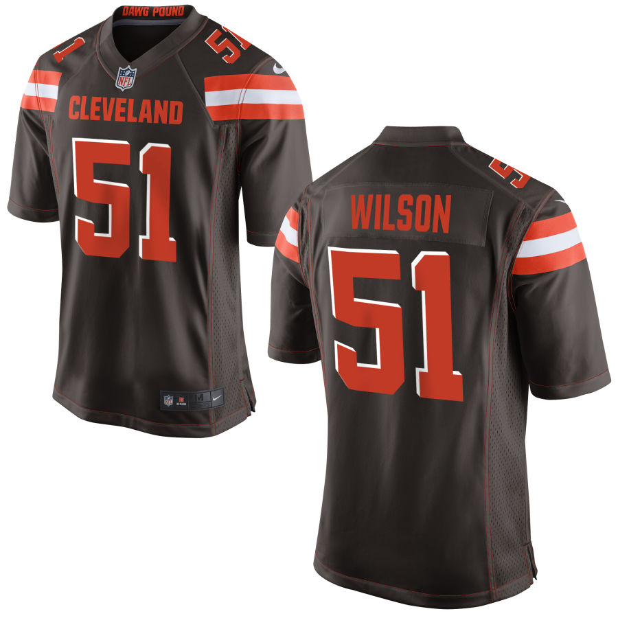 Men's Cleveland Browns #51 Mack Wilson Brown Stitched NFL Nike Game Jersey