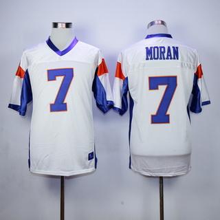 Men's The Movie Blue Mountain State #7 Alex Moran White Football Jersey