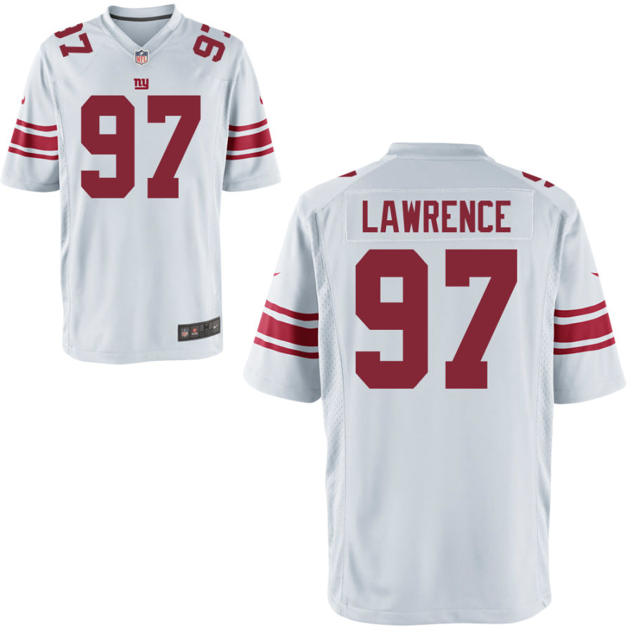 Men's New York Giants #97 Dexter Lawrence White Vapor Untouchable Stitched NFL Nike Limited Jersey