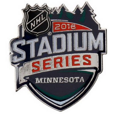 Chicago Blackhawks vs. Minnesota Wild 2016 Stadium Series Patch