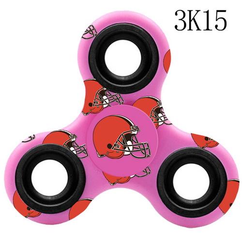 Cleveland Browns Pink Logo Three-Way Fidget Spinner III - 3K15