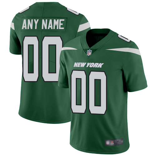Limited Green Football Home Youth Jersey Customized 2019 New York Jets Vapor Untouchable