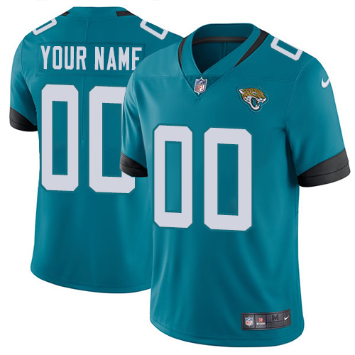 Limited Teal Green Football Alternate Youth Jersey Customized 2019 Jacksonville Jaguars Vapor Untouchable