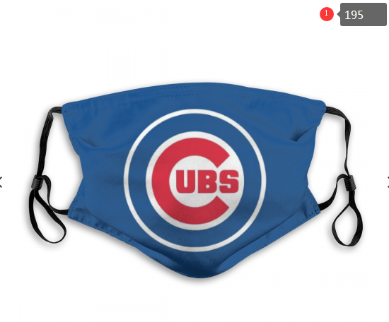 MLB Baseball Team Fashion Dust Mask with Filter  (12)