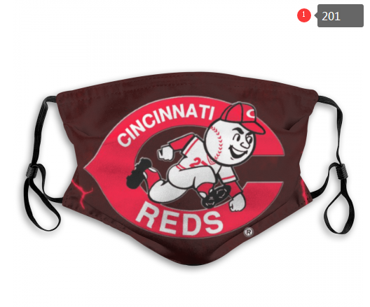 MLB Baseball Team Fashion Dust Mask with Filter  (13)