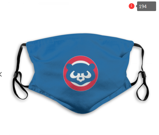 MLB Baseball Team Fashion Dust Mask with Filter  (15)