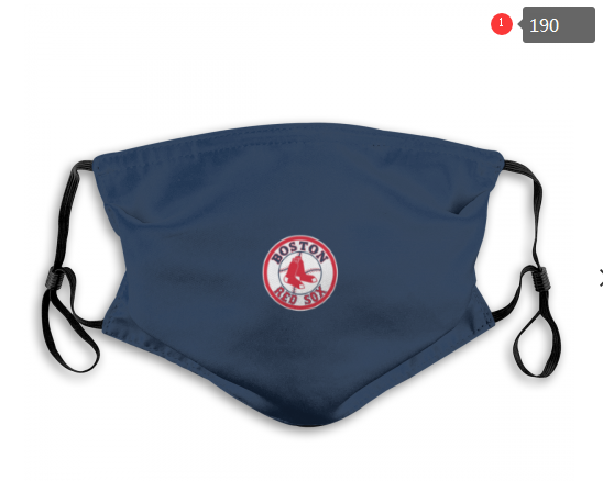 MLB Baseball Team Fashion Dust Mask with Filter  (16)