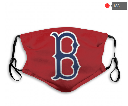 MLB Baseball Team Fashion Dust Mask with Filter  (17)