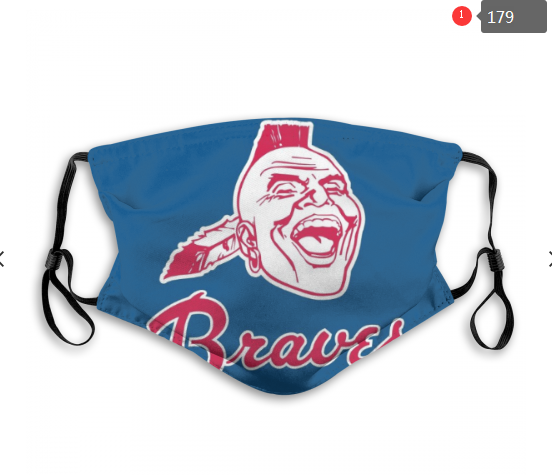 MLB Baseball Team Fashion Dust Mask with Filter  (18)