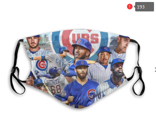 MLB Baseball Team Fashion Dust Mask with Filter  (22)