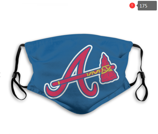 MLB Baseball Team Fashion Dust Mask with Filter  (23)