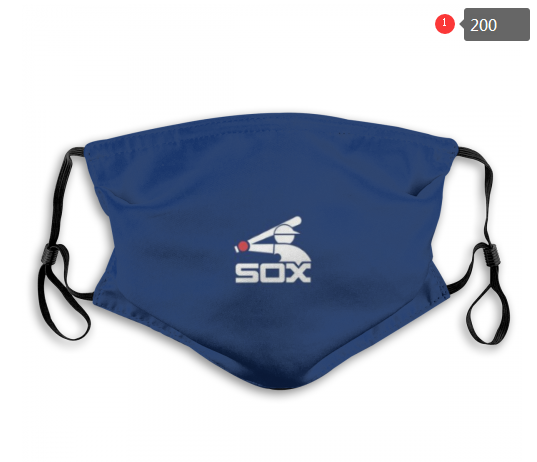 MLB Baseball Team Fashion Dust Mask with Filter  (30)