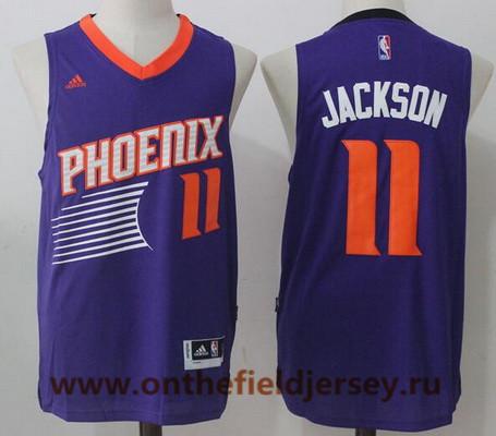 Men's 2017 Draft Phoenix Suns #11 Josh Jackson Purple Stitched NBA Adidas Revolution 30 Swingman Jersey