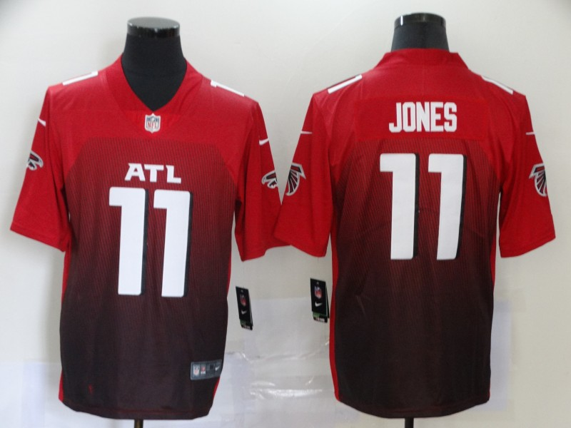 Men's Atlanta Falcons #11 Julio Jones Red 2020 NEW Vapor Untouchable Stitched NFL Nike Limited Jersey
