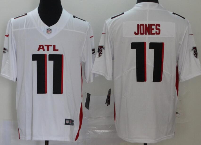 Men's Atlanta Falcons #11 Julio Jones White New Vapor Untouchable Limited Nike Jersey