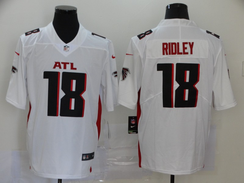 Men's Atlanta Falcons #18 Calvin Ridley White 2020 NEW Vapor Untouchable Stitched NFL Nike Limited Jersey