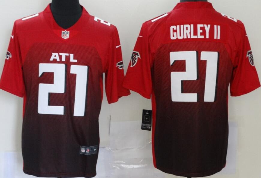 Men's Atlanta Falcons #21 Todd Gurley II Red 2020 NEW Vapor Untouchable Stitched NFL Nike Limited Jersey