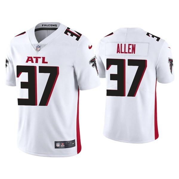 Men's Atlanta Falcons #37 Ricardo Allen White New Vapor Untouchable Limited Nike Jersey