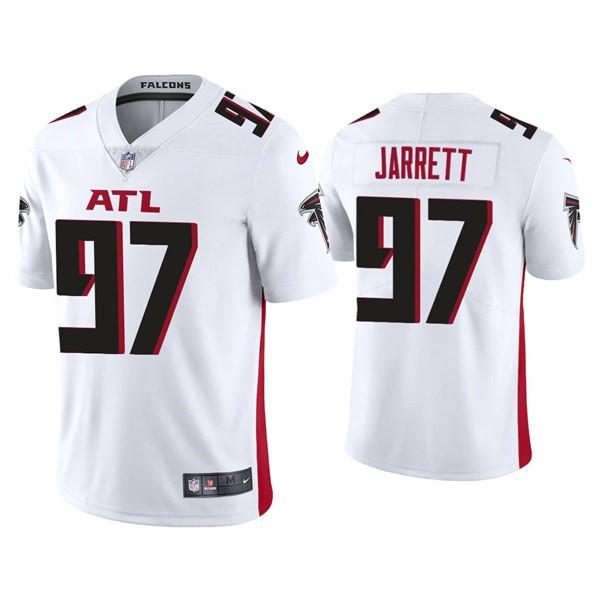 Men's Atlanta Falcons #97 Grady Jarrett White New Vapor Untouchable Limited Nike Jersey