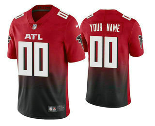 Men's Atlanta Falcons 2020 Red Active Player Custom Limited Stitched NFL Jersey