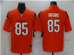 Men's Cincinnati Bengals #85 Tee Higgins 2021 Orange Vapor Untouchable Limited Stitched NFL Jersey