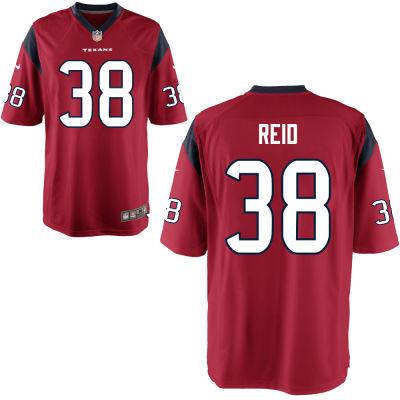 Men's Houston Texans #38 Justin Reid Red Alternate Stitched NFL Nike Game Jersey