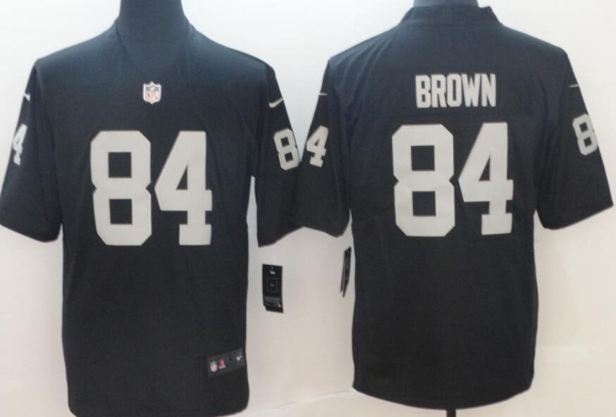 Men's Las Vegas Raiders #84 Antonio Brown Black 2020 Vapor Untouchable Stitched NFL Nike Limited Jersey