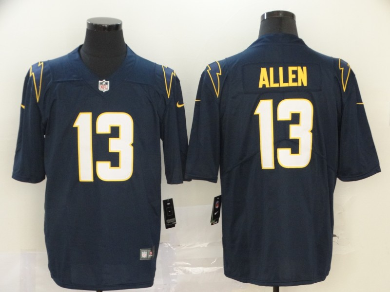 Men's Los Angeles Chargers #13 Keenan Allen Navy Blue 2020 New Vapor Untouchable Stitched NFL Nike Limited Jersey