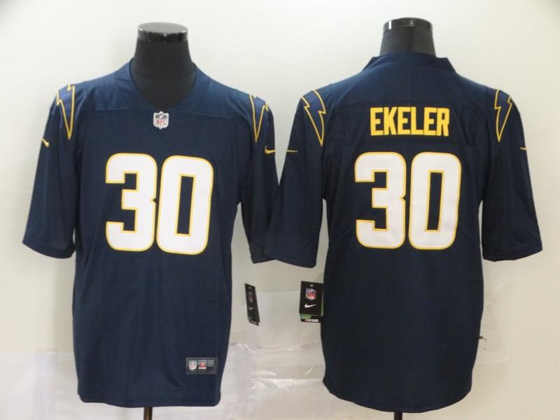 Men's Los Angeles Chargers #30 Austin Ekeler Navy Blue 2020 New Vapor Untouchable Stitched NFL Nike Limited Jersey