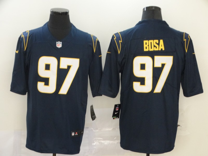 Men's Los Angeles Chargers #97 Joey Bosa Navy Blue 2020 New Vapor Untouchable Stitched NFL Nike Limited Jersey