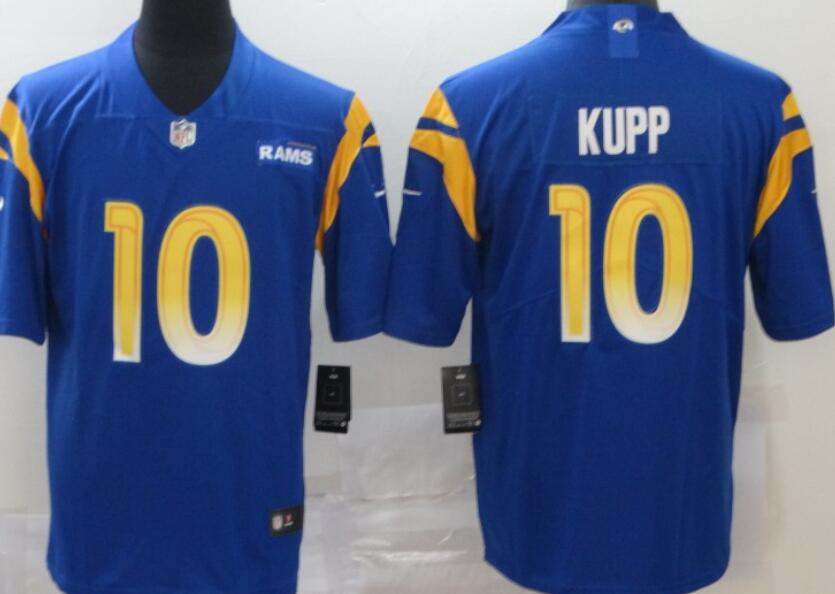 Men's Los Angeles Rams #10 Cooper Kupp Royal Blue 2020 New Vapor Untouchable Stitched NFL Nike Limited Jersey