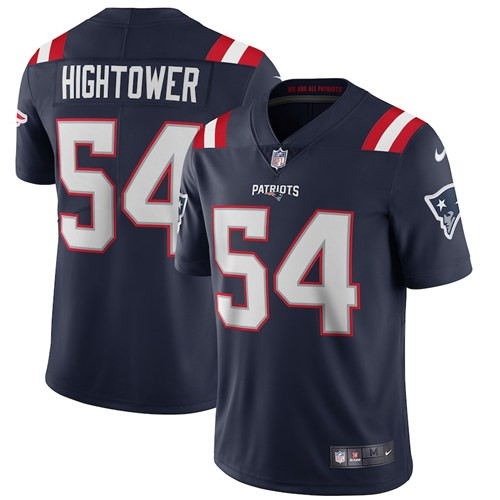 Men's New England Patriots #54 Dont'a Hightower Navy Blue 2020 NEW Vapor Untouchable Stitched NFL Nike Limited Jersey