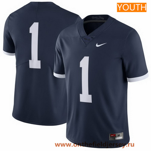 Youth Penn State Nittany Lions Custom Navy Blue Limited 2017 Alternate College Football Stitched Nike NCAA Jersey